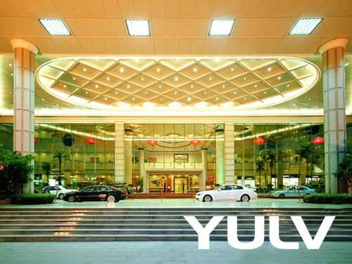东莞龙泉国际大酒店酒店正门高清图片