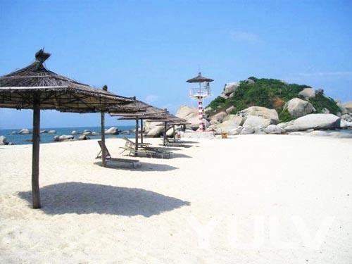 惠州巽寮湾海公园爱度度假酒店h栋周边景点—三角洲海岛