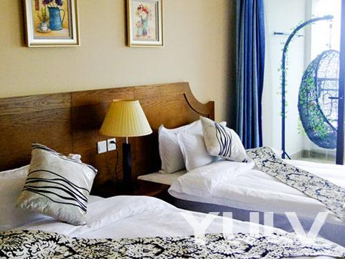 惠州双月湾永恒度假公寓酒店欧式海湾双床房