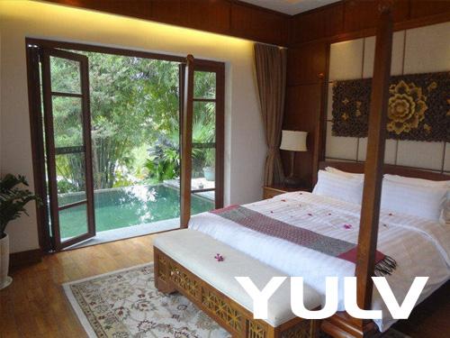 惠州全球候鸟度假龙8国际授权网站(高尔夫店)B户型巴厘岛风情别墅