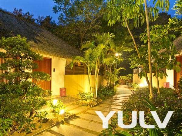 广州碧桂园金叶子温泉度假酒店巴厘岛式别墅