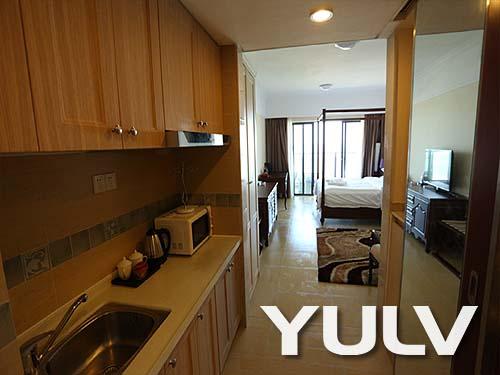 私享家度假公寓阳江海陵岛保利银滩无敌海景大床套房