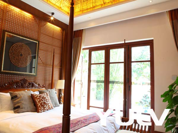 惠州候鸟水榕庄度假酒店b户巴厘岛风情别墅卧室