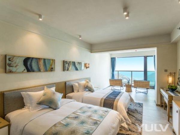 独特海景高级双床房